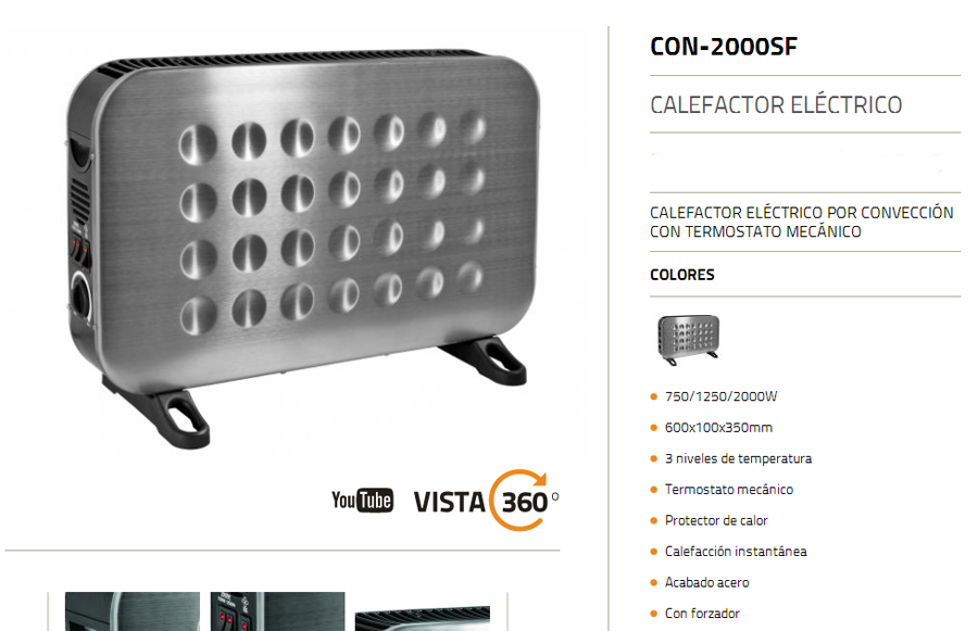 Convector Clever 2000