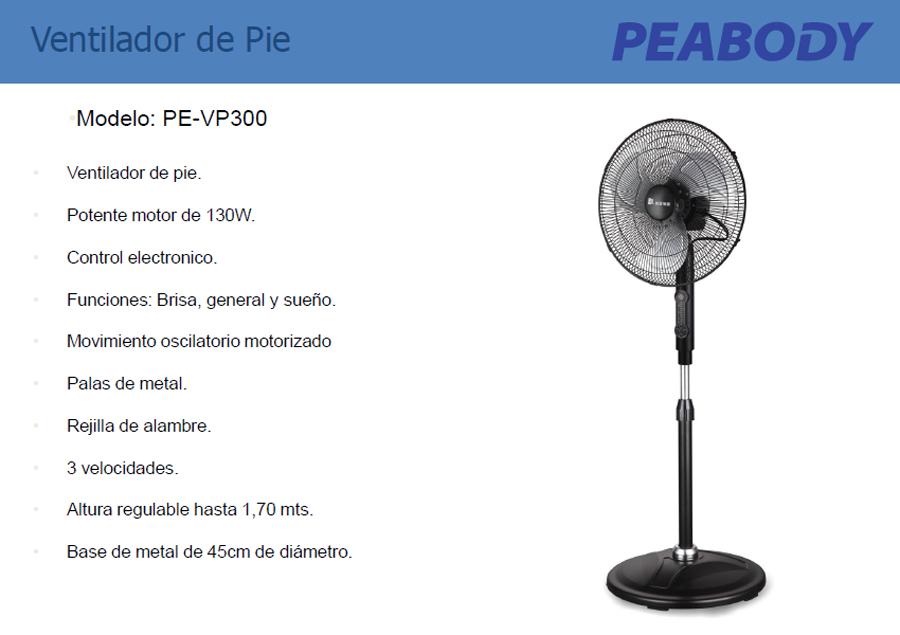 Ventilador Peabody